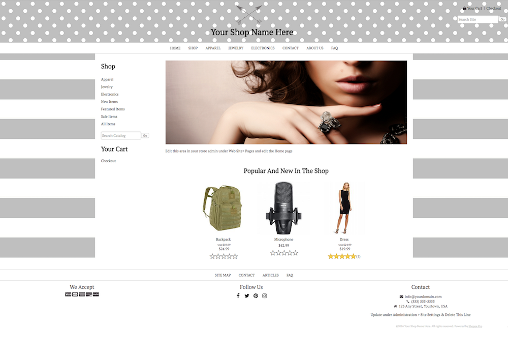 DIY STYLE 4: 1200PX WIDTH CONTENT - FULL WIDTH HEADER AND FOOTER - LEFT COLUMN - PAGE BACKGROUND - LOGO INSIDE HEADER